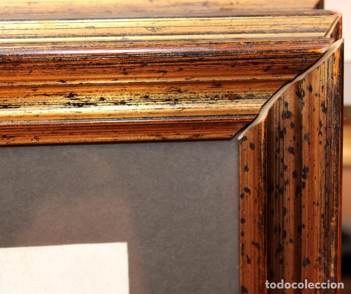 Arte: DON FINK (Duluth, Minessota, Estados Unidos, 1923 - 2010) TECNICA MIXTA DEL AÑO 1990. ABSTRACCION - Foto 11 - 252157850