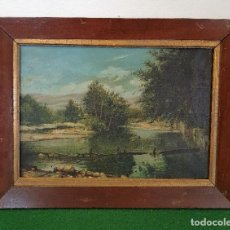 Arte: OLEO SOBRE LIENZO FIRMADO Y FECHADO EN 1906. Lote 252414655