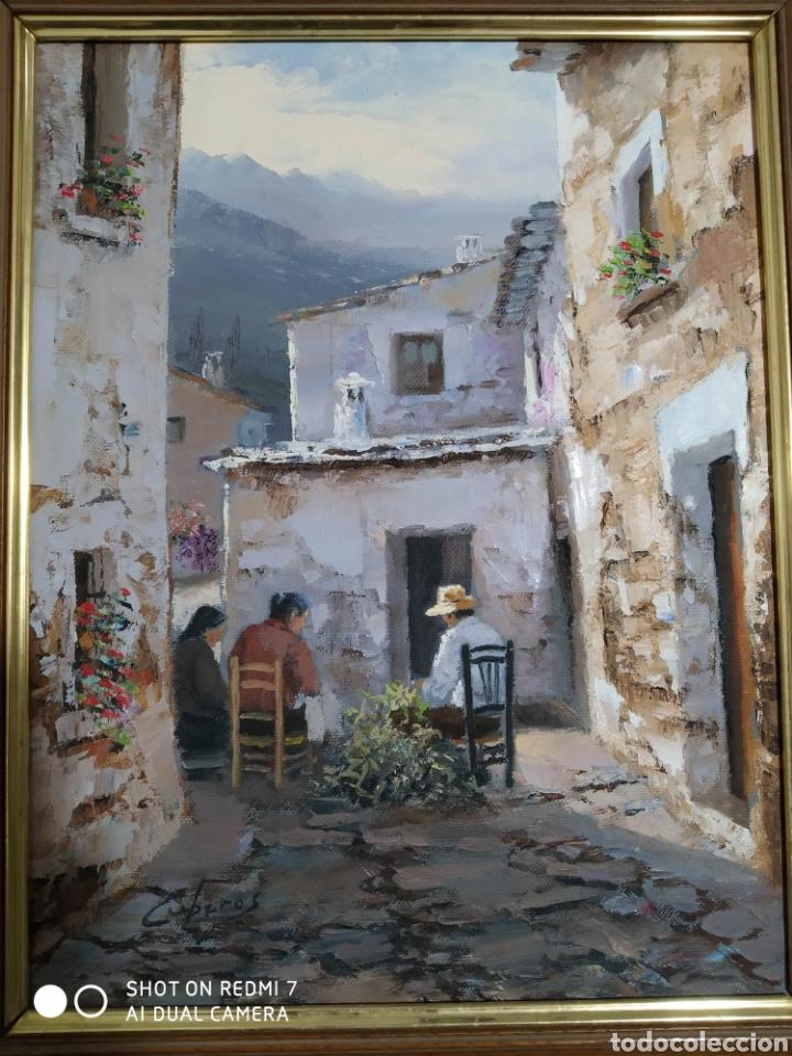 OLEO MANUEL CUBEROS (Arte - Pintura - Pintura al Óleo Contemporánea )