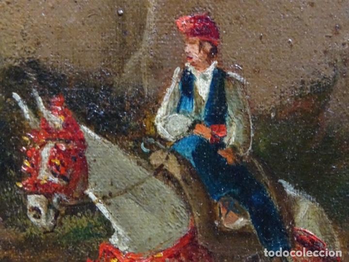 Arte: GRAN ÓLEO SOBRE TELA DEL AÑO 1886 FIRMADO MORU. ESCUELA CATALANA DE GRAN CALIDAD. - Foto 20 - 252703140