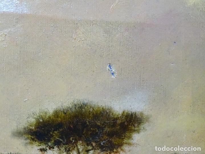 Arte: GRAN ÓLEO SOBRE TELA DEL AÑO 1886 FIRMADO MORU. ESCUELA CATALANA DE GRAN CALIDAD. - Foto 29 - 252703140
