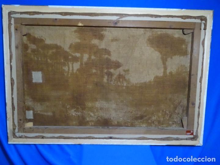 Arte: GRAN ÓLEO SOBRE TELA DEL AÑO 1886 FIRMADO MORU. ESCUELA CATALANA DE GRAN CALIDAD. - Foto 31 - 252703140