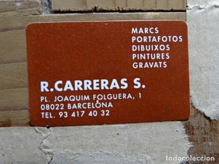 Arte: GRAN ÓLEO SOBRE TELA DEL AÑO 1886 FIRMADO MORU. ESCUELA CATALANA DE GRAN CALIDAD. - Foto 32 - 252703140
