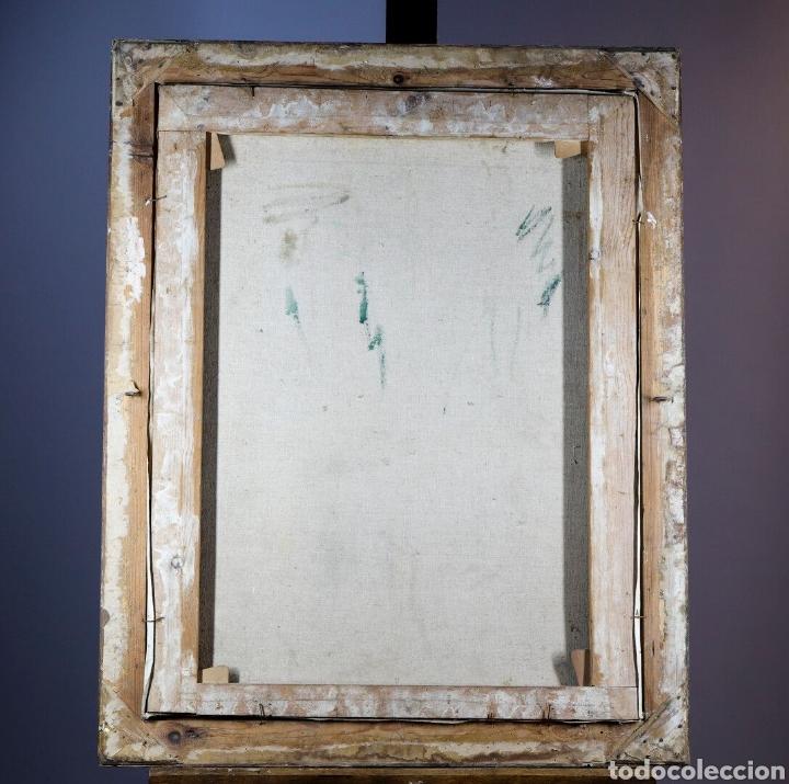 Arte: CASIMIRO MARTÍNEZ TARRASSÓ ( BARCELONA, 1898-1980). ÓLEO SOBRE TELA. FIRMADO. 78 X 60 CM. - Foto 2 - 252910630