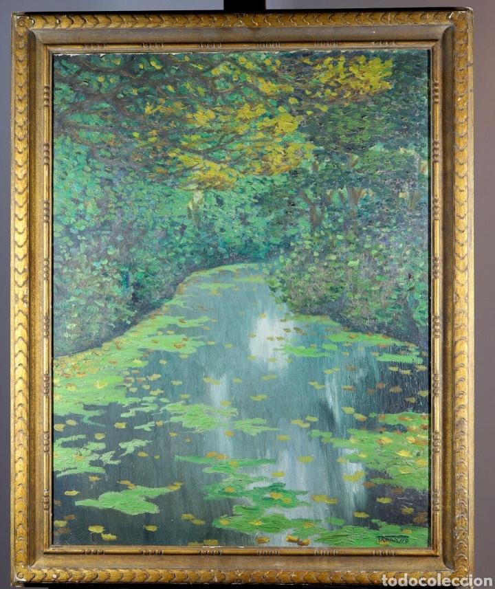 CASIMIRO MARTÍNEZ TARRASSÓ ( BARCELONA, 1898-1980). ÓLEO SOBRE TELA. FIRMADO. 78 X 60 CM. (Arte - Pintura - Pintura al Óleo Moderna sin fecha definida)