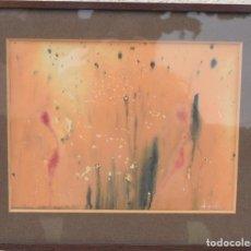 Arte: CUADRO JOSEP MARIA ESPADA (IMPORTANTE DECORADOR Y ESCENÓGRAFO BARCELONA) FIRMADA Y FECHADA 1955. Lote 252976705