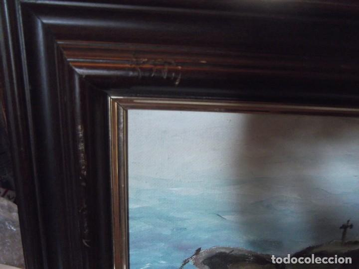 Arte: Magnifica obra marítima técnica oleo año 87 , firmada de 36 x 46 de ancho - Foto 4 - 253223905