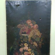 Arte: OLEO SOBRE LIENZO FIRMADO Y FECHADO EN 1886 . 115 × 71 CM. Lote 253338460