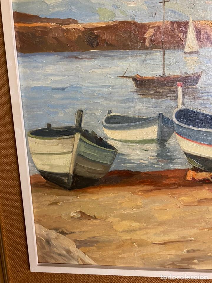 Arte: Miguel vaquer Oleo/lienzo medidas 92x73 con marco 116x96 - Foto 4 - 253449620