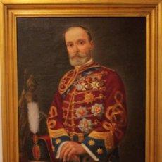 Arte: OLEO DE ANDRES BUFORN 1877 - 1943. DISCÍPULO DE JOAQUIN SOROLLA. 84X66CM(ENMARCADO). Lote 253565035