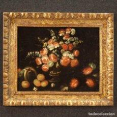 Arte: ANTIGUA PINTURA BODEGÓN DEL SIGLO XVIII.. Lote 253625935