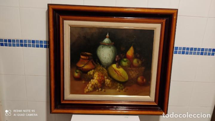 PINTURA AL OLEO BODEGON (Arte - Pintura - Pintura al Óleo Moderna siglo XIX)