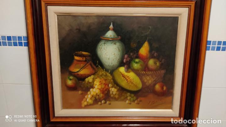 Arte: pintura al oleo bodegon - Foto 2 - 253897440