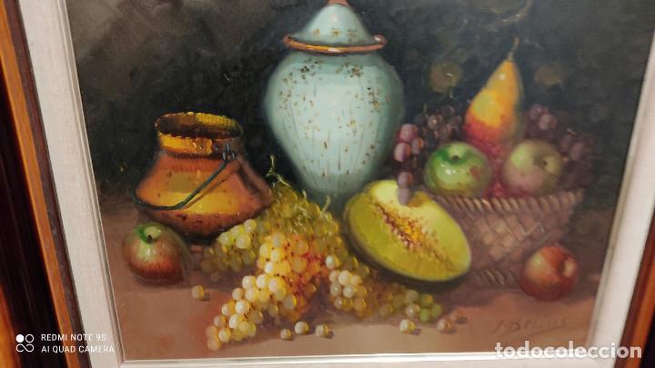 Arte: pintura al oleo bodegon - Foto 3 - 253897440