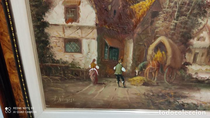 Arte: pintura oleo con autor - Foto 3 - 253897720