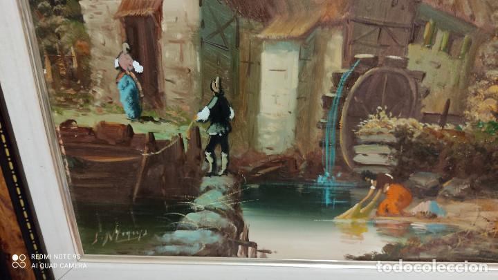 Arte: cuadro pintura al oleo - Foto 3 - 253897865