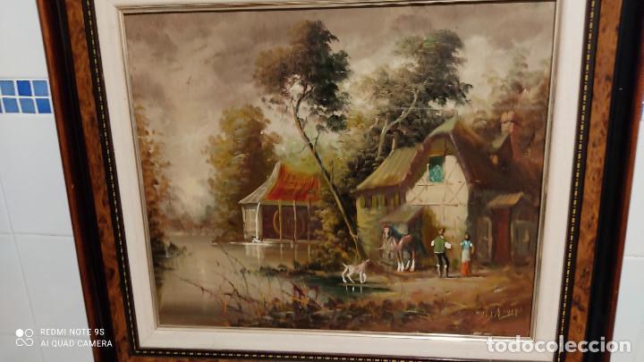 Arte: cuadro pintura al oleo - Foto 2 - 253898025