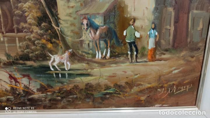Arte: cuadro pintura al oleo - Foto 3 - 253898025