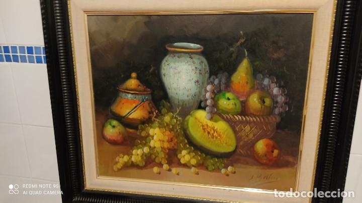 Arte: pintura al oleo bodegon - Foto 2 - 253898210