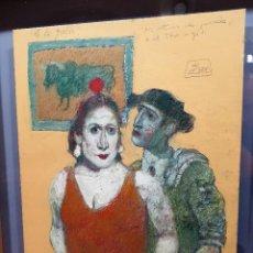 Arte: OLEO SOBRE TABLA DE ZOHRE MIRABASSI. Lote 253914655