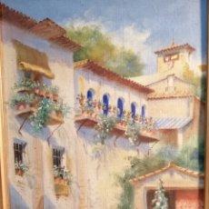 Arte: JUEGO CUADROS CARLOTA ROSALES. Lote 253918580