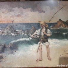 Arte: PESCADOR SAN SEBASTIÁN 1898. Lote 253982065