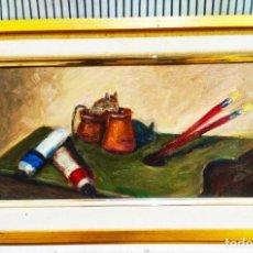 Arte: ÓLEO DE JOSEP VENTOSA. Lote 253985260