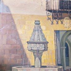 Arte: FUENTE GÓTICA DE LA TRINIDAD DE XÀTIVA. JOAQUÍN TUDELA PERALES. Lote 253993445