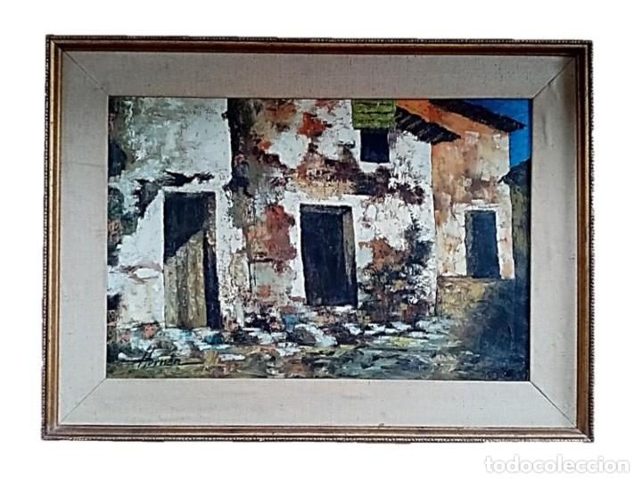 HERNAN PICO RIBERA (1911/1994) - ÓLEO SOBRE LIENZO (Arte - Pintura - Pintura al Óleo Contemporánea )