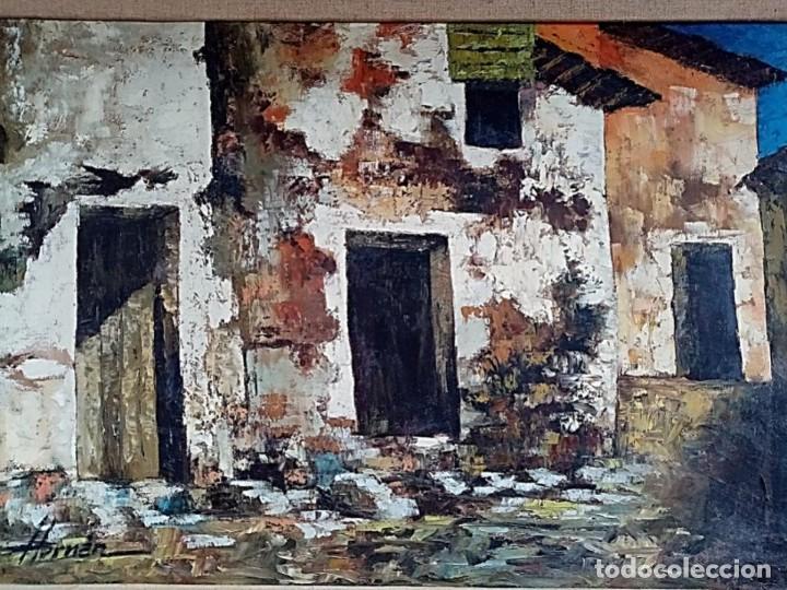 Arte: HERNAN PICO RIBERA (1911/1994) - ÓLEO SOBRE LIENZO - Foto 2 - 254029915