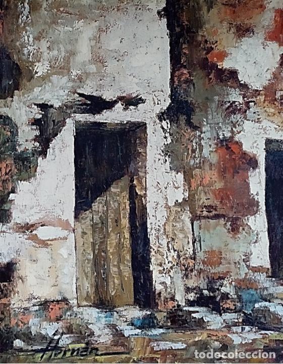 Arte: HERNAN PICO RIBERA (1911/1994) - ÓLEO SOBRE LIENZO - Foto 3 - 254029915