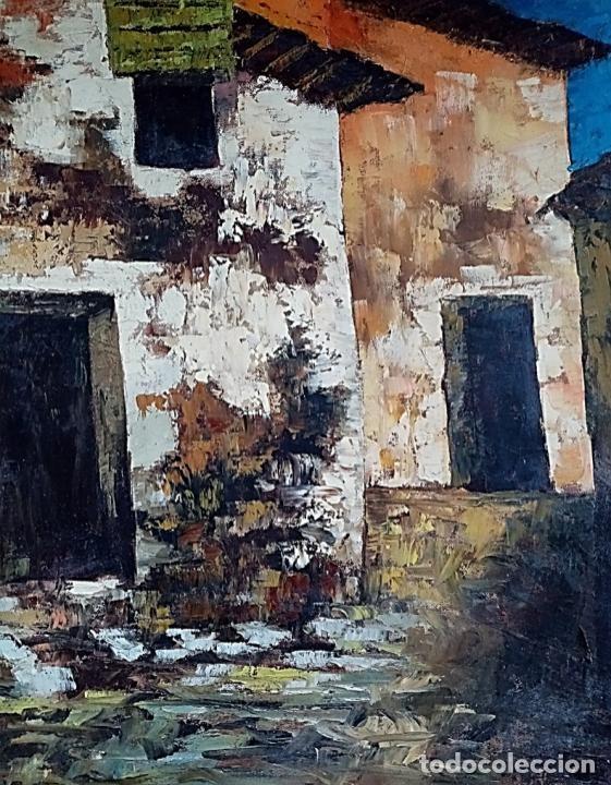 Arte: HERNAN PICO RIBERA (1911/1994) - ÓLEO SOBRE LIENZO - Foto 4 - 254029915