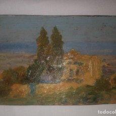 Arte: CUADRO TABLILLA PINTADA A MANO. Lote 254040525