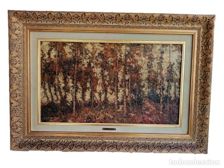 LUIS GINER BUENO (VALENCIA1935-2000) - ÓLEO SOBRE LIENZO (Arte - Pintura - Pintura al Óleo Contemporánea )