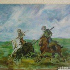 Arte: OLEO SOBRE LIENZO/ BASTIDOR ( FIRMADO ) J. JOSE -- GRAU AL DORSO 41 X 33 CTMS. Lote 254170530