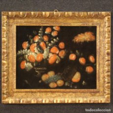 Arte: BODEGÓN ITALIANO ANTIGUO DEL SIGLO XVIII.. Lote 254187725