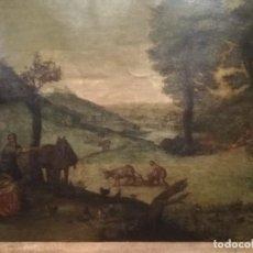 Arte: ESCUELA FLAMENCA S. XVII '' ÓLEO SOBRE COBRE ''. Lote 254575180