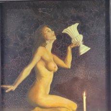 Arte: DAMA HIPERREALIMO POR ARBORNÉS AÑO 79. Lote 254757150