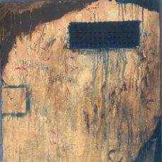 Arte: DANIEL ARGIMON , T/M. SARRIÁ - BARCELONA . OBRA CATALOGADA , AÑO 1991. Lote 254885835