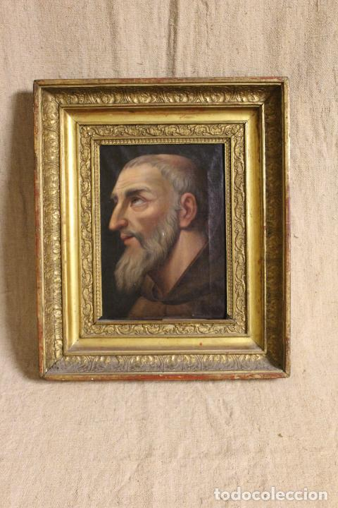 Arte: oleo sobre lienzo franciscano - Foto 2 - 254922525