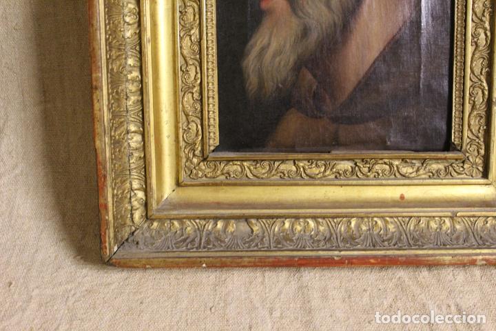 Arte: oleo sobre lienzo franciscano - Foto 3 - 254922525