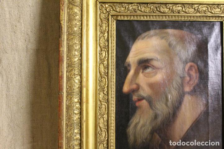 Arte: oleo sobre lienzo franciscano - Foto 4 - 254922525