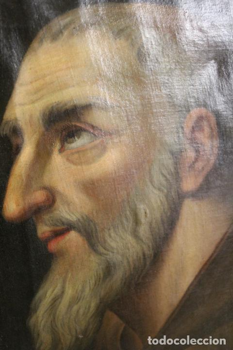 Arte: oleo sobre lienzo franciscano - Foto 7 - 254922525