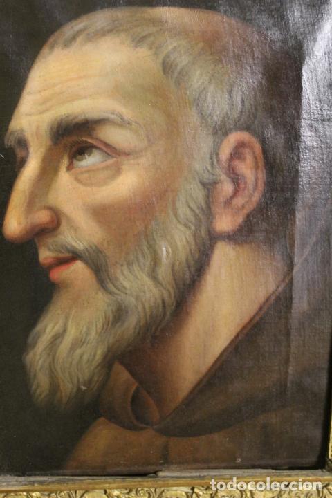 Arte: oleo sobre lienzo franciscano - Foto 8 - 254922525