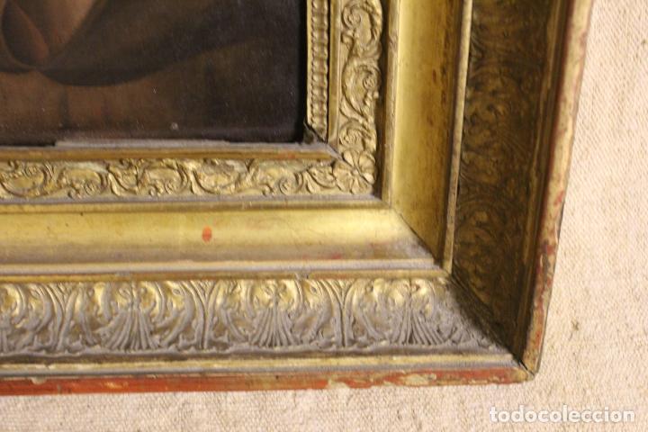 Arte: oleo sobre lienzo franciscano - Foto 9 - 254922525