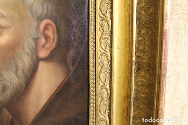 Arte: oleo sobre lienzo franciscano - Foto 10 - 254922525
