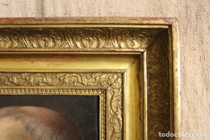 Arte: oleo sobre lienzo franciscano - Foto 11 - 254922525