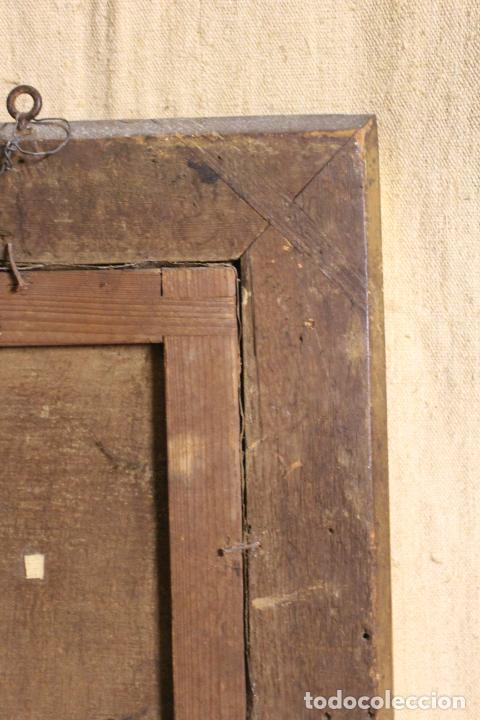 Arte: oleo sobre lienzo franciscano - Foto 12 - 254922525
