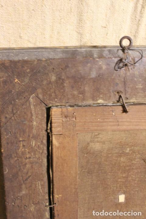 Arte: oleo sobre lienzo franciscano - Foto 15 - 254922525
