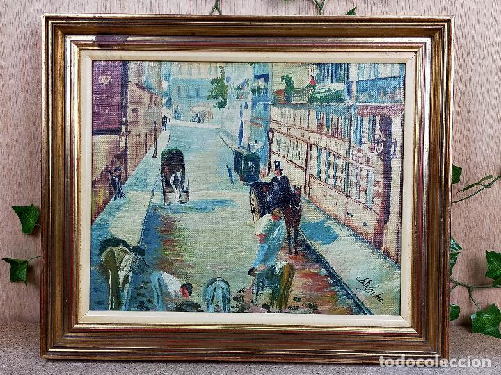 CUADRO PINTURA SOBRE MADERA 44 X 39 CM (Arte - Pintura - Pintura al Óleo Moderna sin fecha definida)